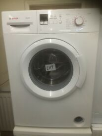 Bosch washing machine £119 can deliver