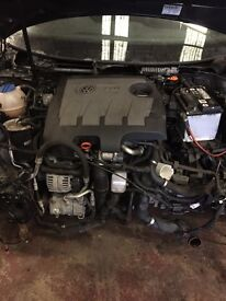 Golf 1.6 tdi engine complete mk6