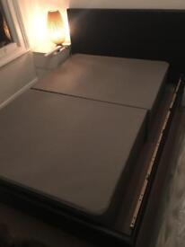 Small Double Divan bed base - very good condition