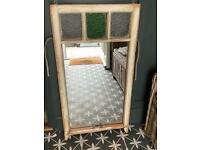 Reclaimed refurbished sash window\mirror