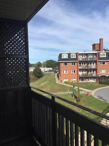 TOP FLOOR TWO BEDROOM WITH LAMINATE FLOORS AND A BALCONY