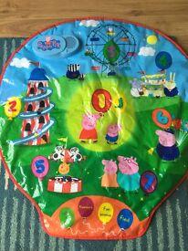 Peppa pig interactive mat
