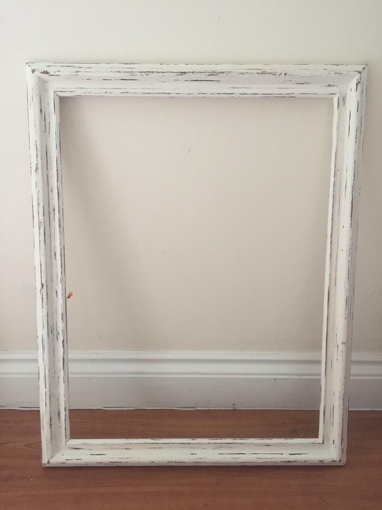 Picture frame: large wooden. Shabby chic. Photo booth frame | in ...