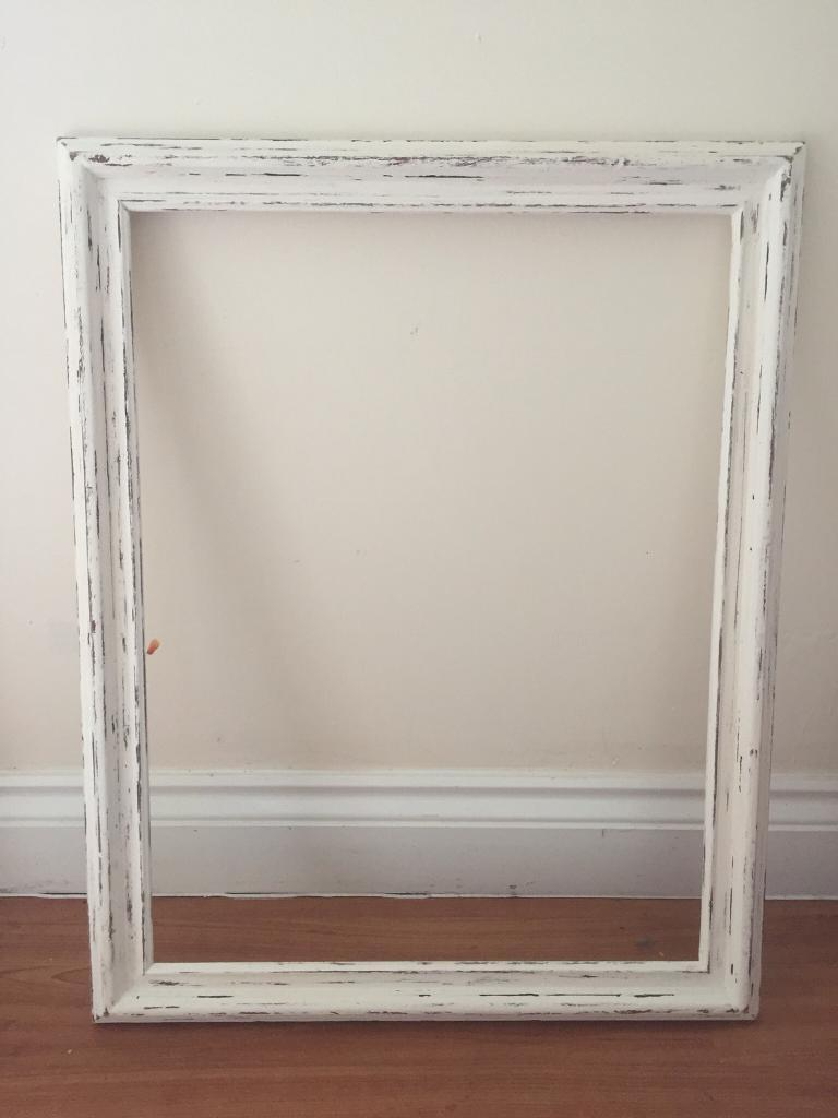 Picture Frame Large Wooden Shabby Chic Photo Booth Frame In