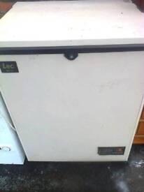 Chest freezer, Almond Lec