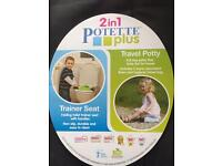 Travel potty/training seat