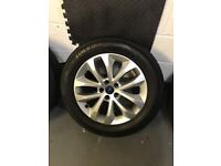 Ford Kuga focus alloy wheels and tyres