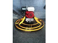 3ft GE Wilson concrete power float (Honda engine