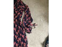 Size 8 jumpsuits and dresses/shoes