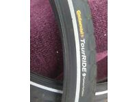 "continental tour ride 26"" tyres brand new"
