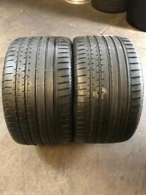2 PW 285 30 18 Continental SportContact 2 N2 Tread 5mm-6mm