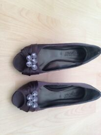 Bling feature shoes