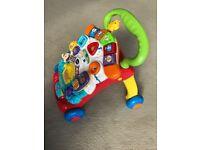 Vtech 505603 Baby Walker - Multi-Coloured - AS NEW - inc batteries