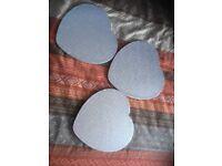 Heart shape cake boards