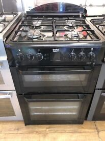 BEKO 60CM ALL GAS COOKEE IN BLACK