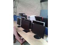 PC Monitors, with guarantee