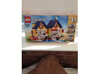 NEW, BOXED, LEGO Creator 3 Beach/Surfers House 31035