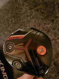 Cobra F7 driver. Stiff shaft