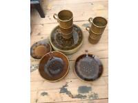 Vintage biltons pottery dinner set