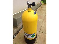 Diving cylinder - 15L Faber steel