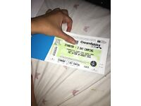 Creamfields Friday to Sunday Camping ticket
