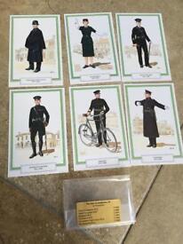 """The Irish Constabulary Series"" - Set Of 6 Postcards"