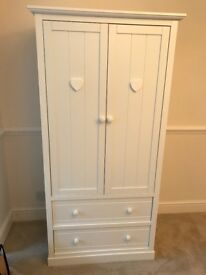 Children's White single wardrobe from Next