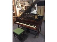 """Bechstein 6' 8"""" grand piano playing beautifully free delivery"""