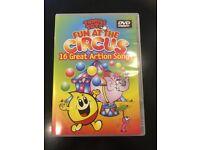 Tumble Tots - DVD's x 2, Lumi Sticks x 6 & Beanbags x 3 - used £7.50