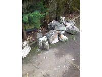 Garden rockery rocks/boulders FREE