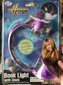 Hannah Montana book light