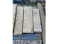 Reclaimed Stone lintels