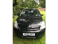 Toyota Verso 7 seater low mileage semi auto smooth engine