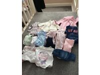 First size/0-3 girls bundle