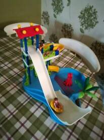 Playmobil Waterpark with slides