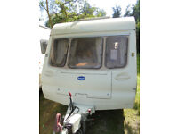 2003 Bailey Ranger 460 - 2 Berth Touring Caravan With Rear Washroom