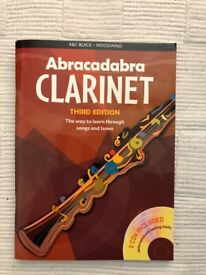 Abracadabra Clarinet with CDs - perfect condition