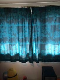 Minion curtains
