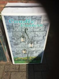 Large garden lantern new in box Very expansion when purchased
