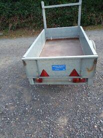Car trailer bronnis 6ft x3.6