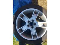 "Volvo 17"" alloy wheels"