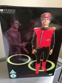CAPTAIN SCARLET DVDS X 6