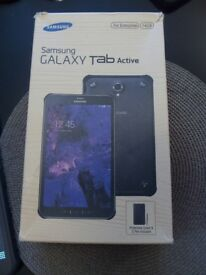 SAMSUNG GALAXY TAB ACTIVE 16 GB - SIM FREE - NEW CONDITION PLUS BOX