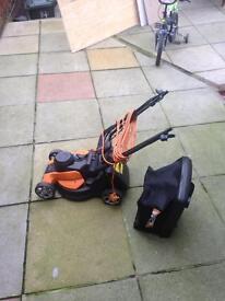 Worx grass cutter lawnmower