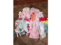 Bundle of baby girls clothing 3-6months New and excellent condition will post