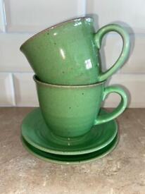 Vintage Habitat cup and saucer set