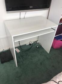 White Computer Desk For Sale