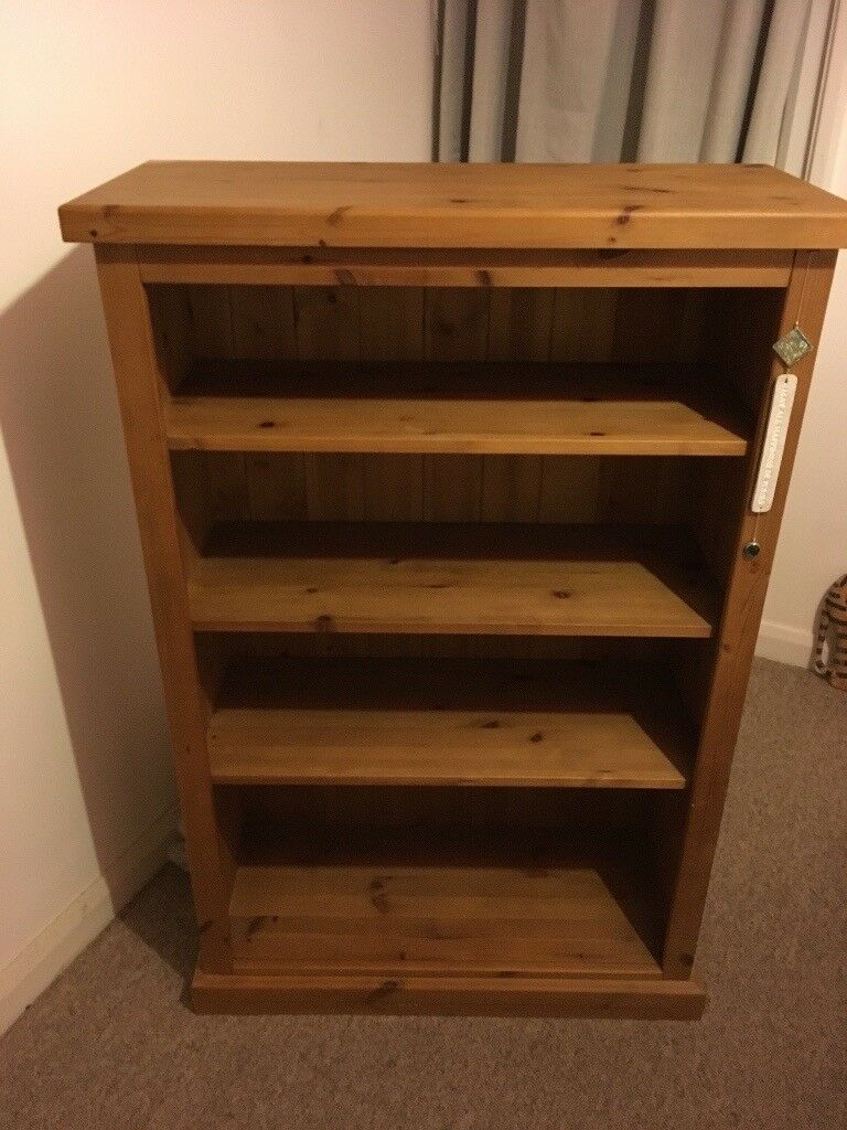Solid Pine Book Shelf For Sale 50