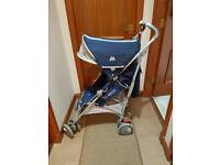 Maclaren Techno XT stroller, Medieval Blue
