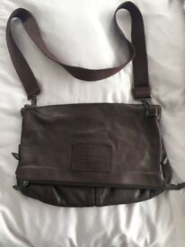 massimo dutti leather bag